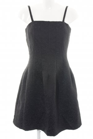 H&M Bustier Dress black business style