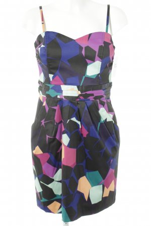 H&M Bustierkleid abstraktes Muster Casual-Look