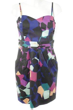 H&M Vestido bustier estampado con diseño abstracto look casual