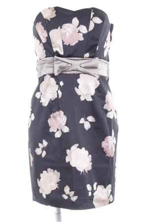 H&M Vestido bustier estampado floral elegante