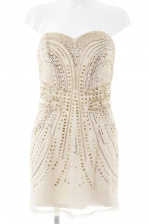 H&M Bustier Dress cream party style