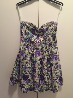 H&M Bustier Dress multicolored