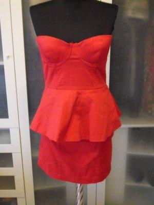 H&M Bustierkleid Gr. 38 knallrot top