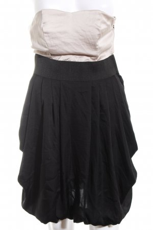 H&M Bustier Dress black-cream party style