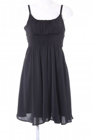 H&M Vestido bustier negro estilo fiesta