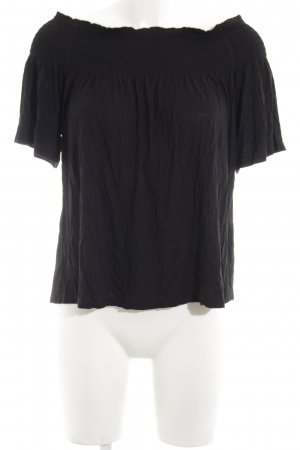 H&M Top tipo bustier negro look casual