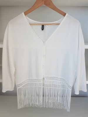 H&M Divided Bolero natural white
