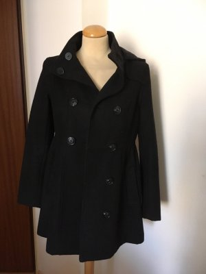 H&M Pea Jacket black