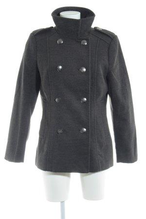 H&M Pea Jacket anthracite elegant