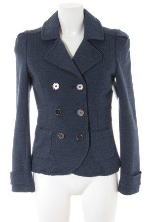 H&M Cabanjacke blau meliert Casual-Look