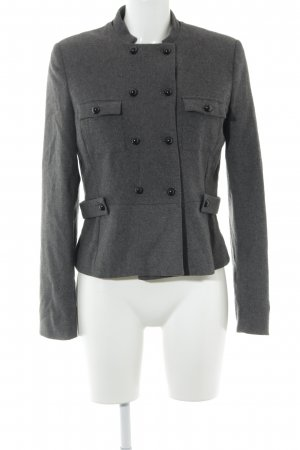 H&M Pea Jacket dark grey elegant