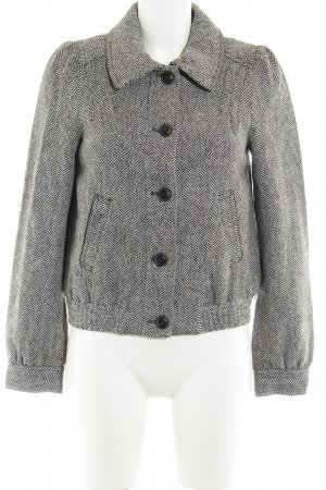 H&M Cabanjacke Fischgrätmuster Casual-Look
