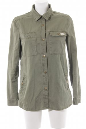 H&M Pea Jacket khaki casual look