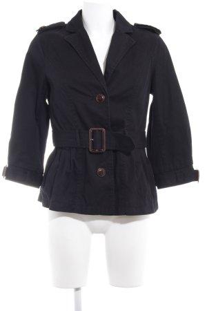 H&M Pea Jacket black Brit look