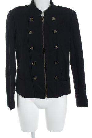 H&M Vareuse noir style anglais