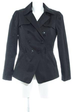 H&M Cabanjacke schwarz klassischer Stil