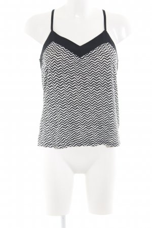 H&M Camisoles black-white graphic pattern casual look