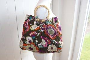 H&M Handbag multicolored cotton
