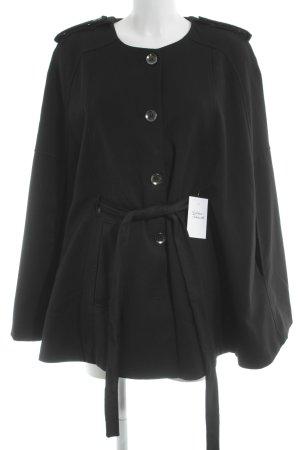 H&M Cape black casual look