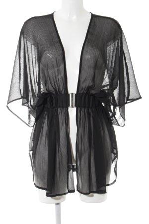 H&M Cape noir élégant