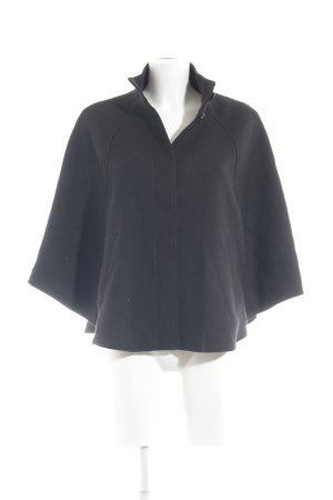 H&M Cape zwart simpele stijl