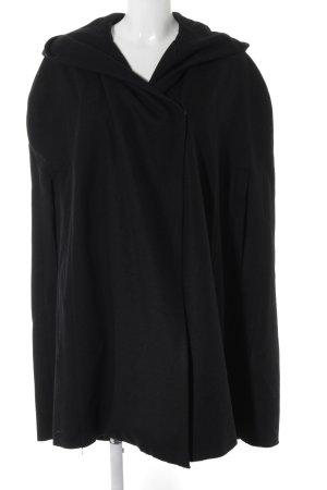 H&M Cape schwarz schlichter Stil