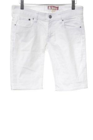 H&M Capris white simple style