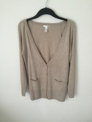 H&M Cardigan Beige Long