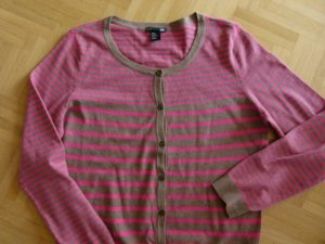 H&M Cardigan beige pink Gr. M Twinset