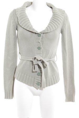 H&M Cardigan blassgrün-graugrün Casual-Look