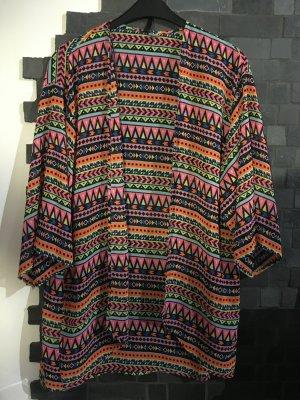H&M Cardigan Bluse Gr. M bunt