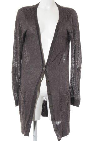 H&M Cardigan braun-taupe Casual-Look