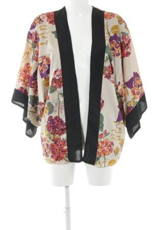H&M Cardigan creme florales Muster Boho-Look