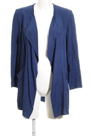 H&M Cardigan dunkelblau Jeans-Optik