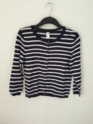 H&M Cardigan gestreift
