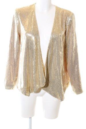 H&M Cardigan goldfarben Elegant