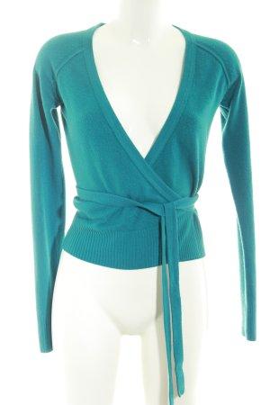H&M Cardigan kadettblau schlichter Stil