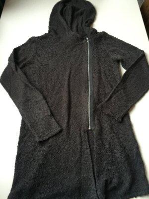 H&M Cardigan mit Kaputze und Reißverschluss, Gr.:34/XS