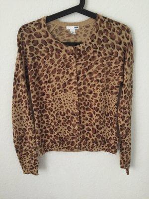 H&M Cardigan mit Leopardenmuster