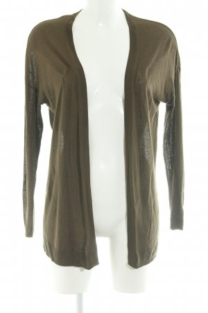 H&M Cardigan olive green casual look