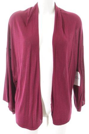 H&M Cardigan purpur Casual-Look