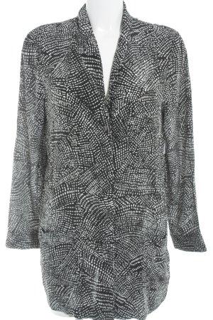 H&M Cardigan schwarz-weiß Punktemuster Casual-Look