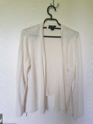 H&M Cardigan Strickjacke creme weiße L Oberteil