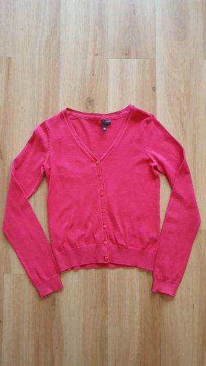 H&M Cardigan Strickjacke pink Gr. 36