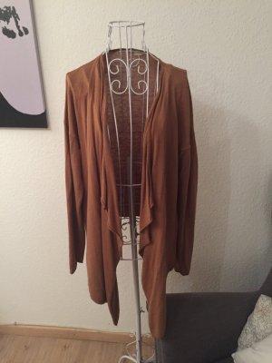 H&m cardigan, Wasserfallcardigan, xs, braun