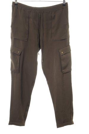 H&M Cargohose bronzefarben Casual-Look