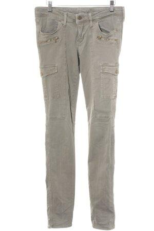 H&M Pantalone cargo verde-grigio stile casual