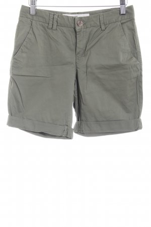 H&M Cargo Pants green grey-olive green casual look