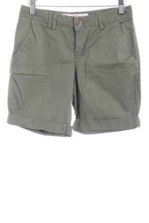 H&M Pantalon cargo gris vert-vert olive style décontracté