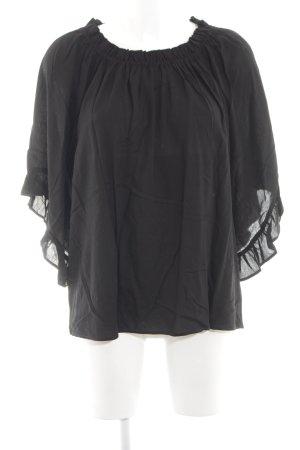 H&M Blouse Carmen noir élégant